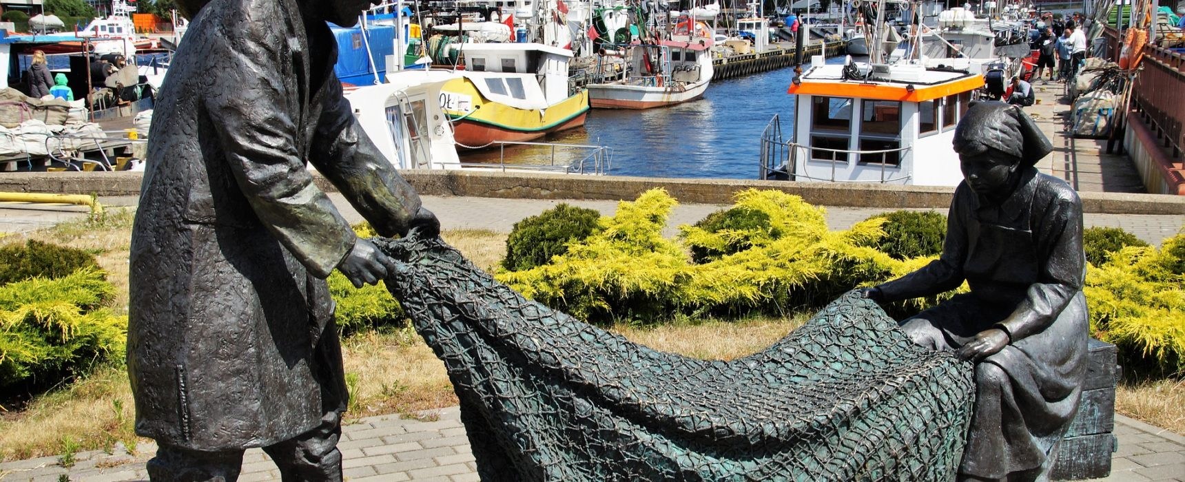 Port rybacki w Kołobrzegu